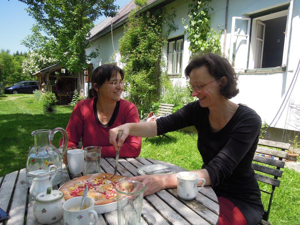 Maria Pravec liefert das köstliche Gemüse das von Elisabeth Haslinger  (r.)  im Landhotel Yspertal verarbeitet wird.